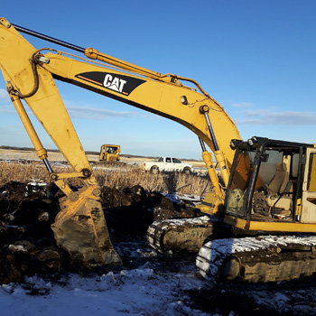 Backhoe equipment